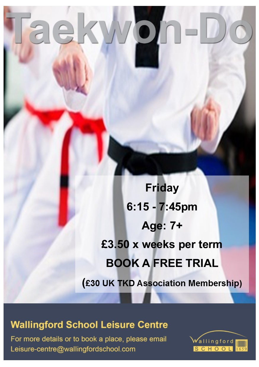 Taekwon-Do at Wallingford Leisure Centre